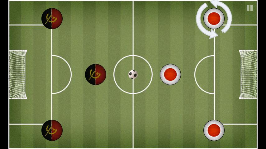androidアプリ ポケットサッカー攻略スクリーンショット1