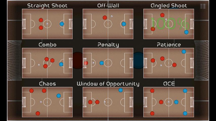 androidアプリ ポケットサッカー攻略スクリーンショット2