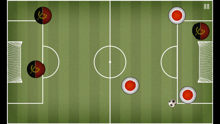 ポケットサッカー androidアプリスクリーンショット1