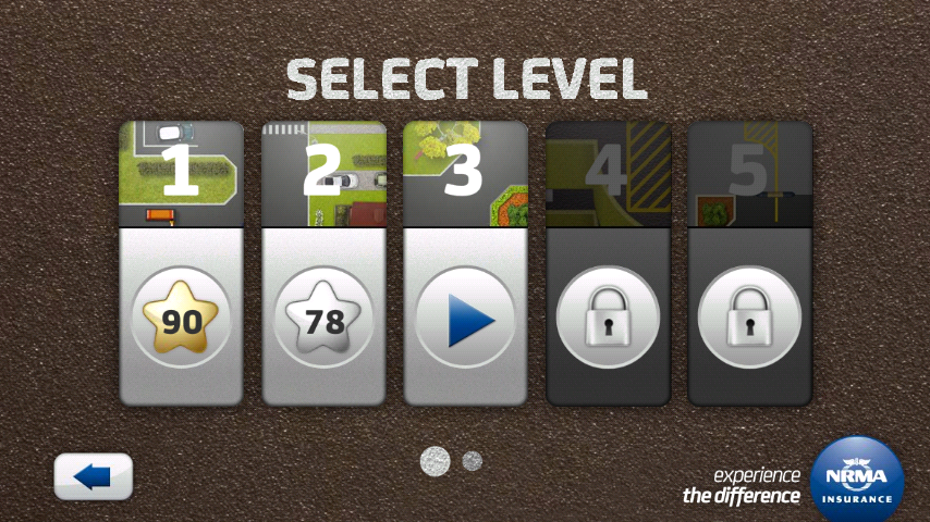 androidアプリ カーパークチャレンジ攻略スクリーンショット4
