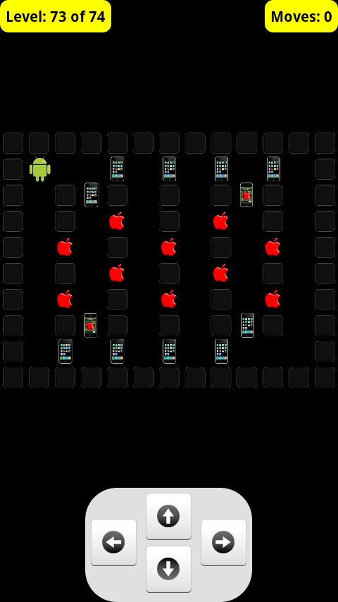 アンドロイドvsアイフォン倉庫番フリー androidアプリスクリーンショット1