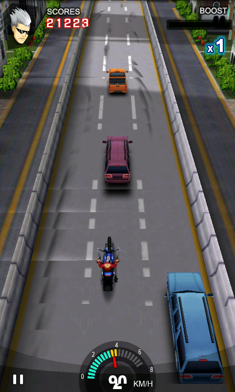 レーシング モト androidアプリスクリーンショット1