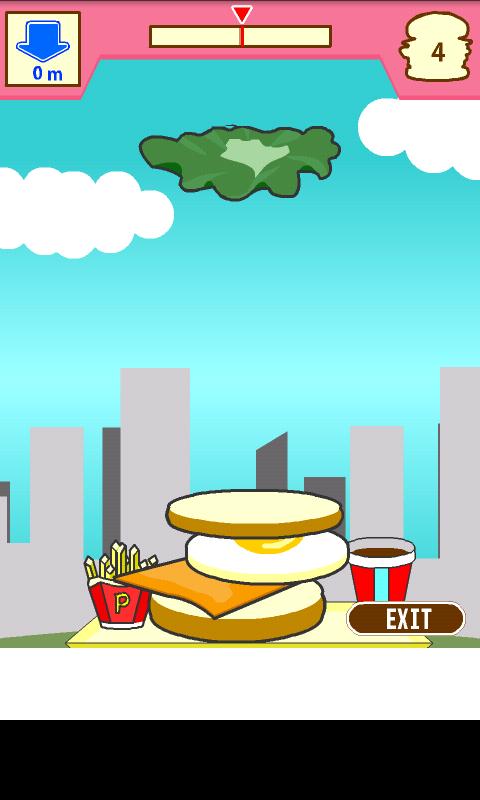 androidアプリ 積んでけハンバーガー攻略スクリーンショット3