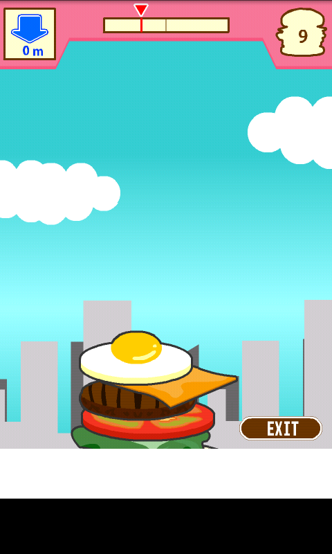 androidアプリ 積んでけハンバーガー攻略スクリーンショット4