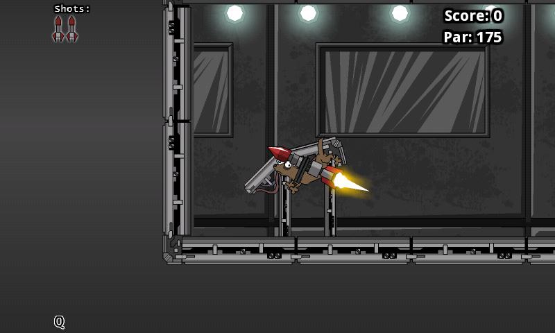 androidアプリ ロケットイタチ攻略スクリーンショット2
