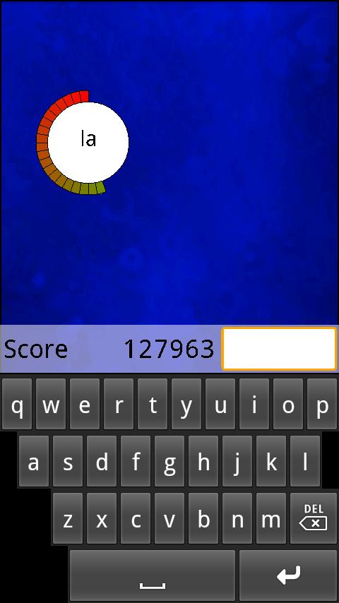 androidアプリ タイプイット!攻略スクリーンショット3