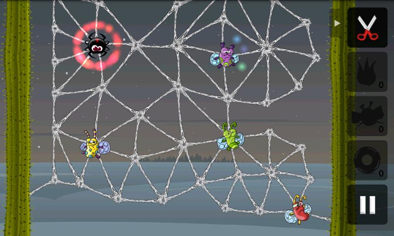 グリーディースパイダース フリー androidアプリスクリーンショット1
