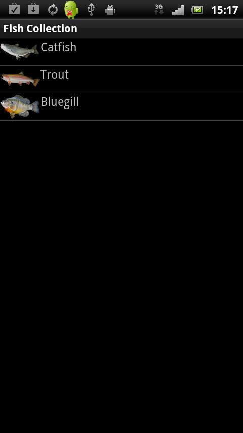 androidアプリ フィッシュコレクション攻略スクリーンショット3