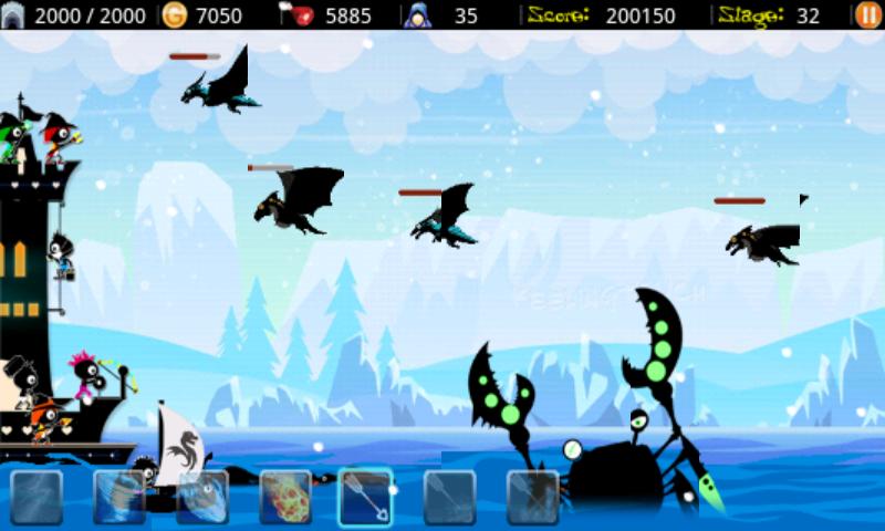 ドラゴンハンター2 androidアプリスクリーンショット1