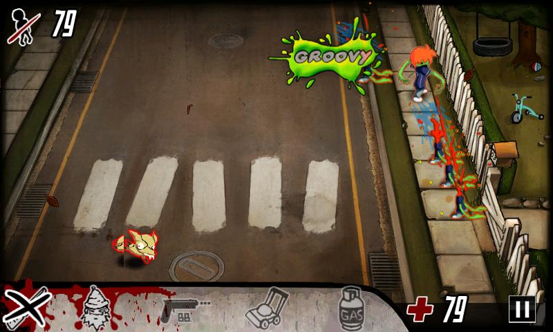 ゾンビジュース androidアプリスクリーンショット1
