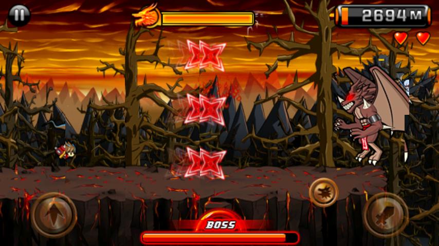 デビルニンジャ2(vs ボス) androidアプリスクリーンショット2