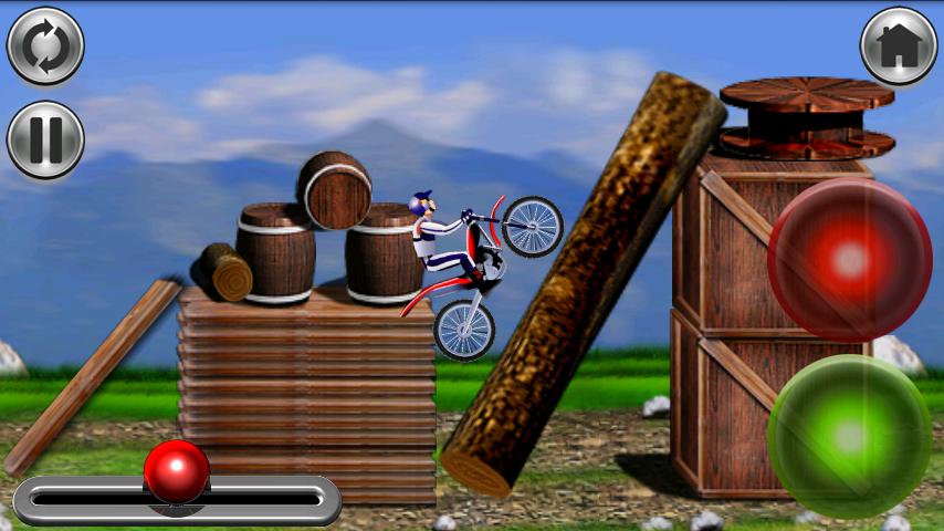 バイクマニア - レーシング androidアプリスクリーンショット1