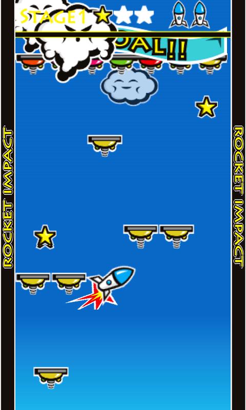 androidアプリ ロケットインパクト攻略スクリーンショット1