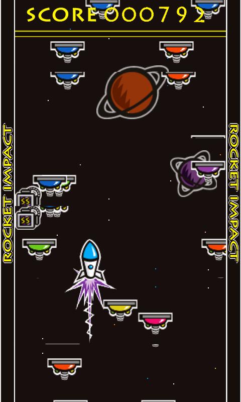 androidアプリ ロケットインパクト攻略スクリーンショット2