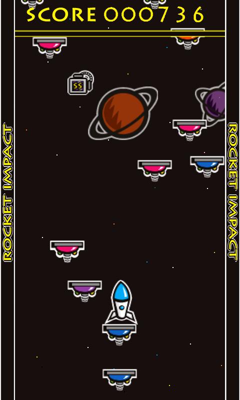 androidアプリ ロケットインパクト攻略スクリーンショット3
