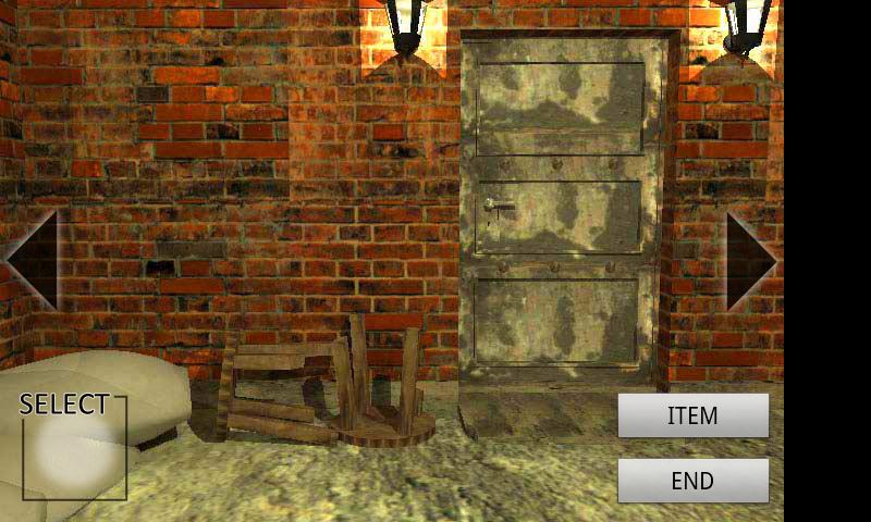 オールド ベースメント-地下倉庫からの脱出- androidアプリスクリーンショット1