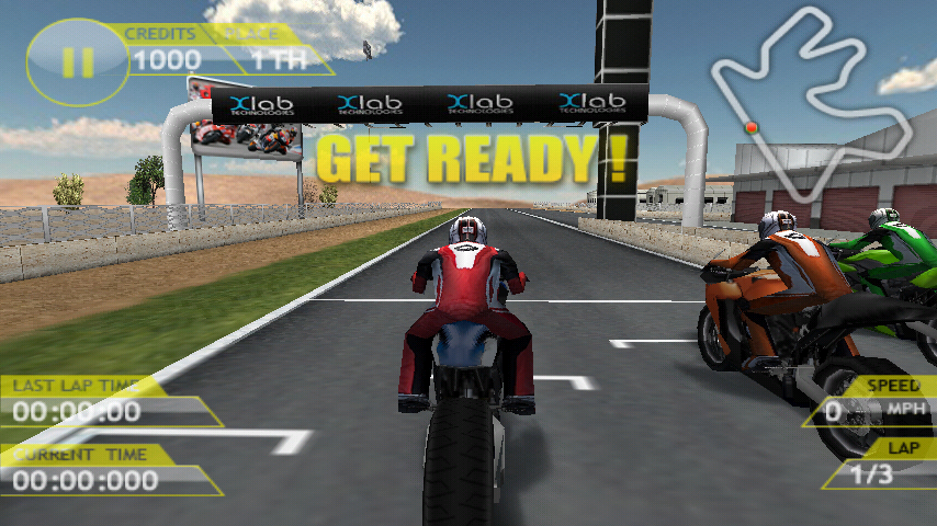 モーターバイク GP androidアプリスクリーンショット1
