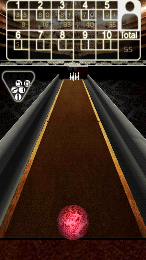 androidアプリ ボウリング 3D Bowling攻略スクリーンショット3
