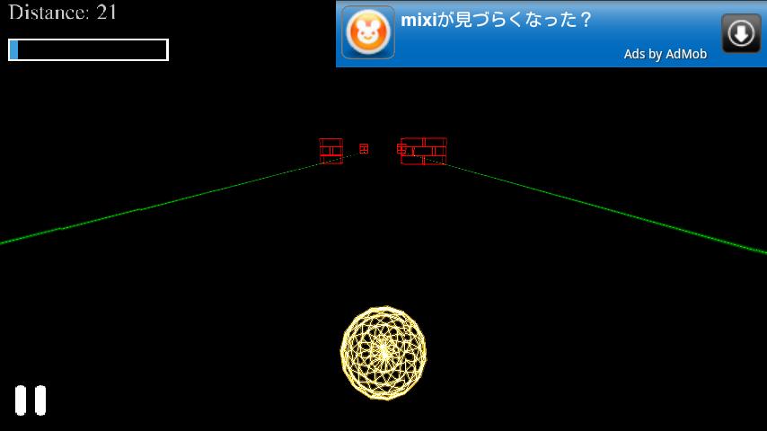 androidアプリ フリーランニング 3D - グロウボール攻略スクリーンショット5