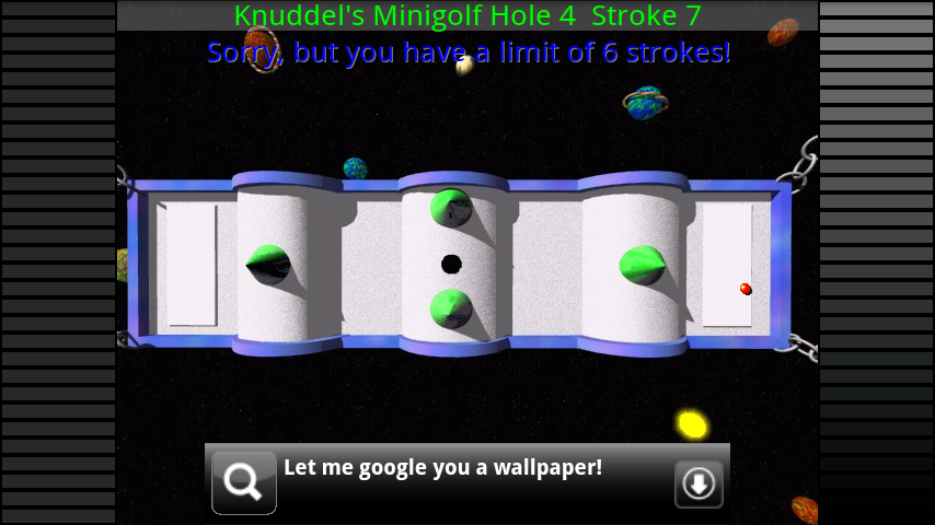 androidアプリ カドリーズミニゴルフ攻略スクリーンショット2