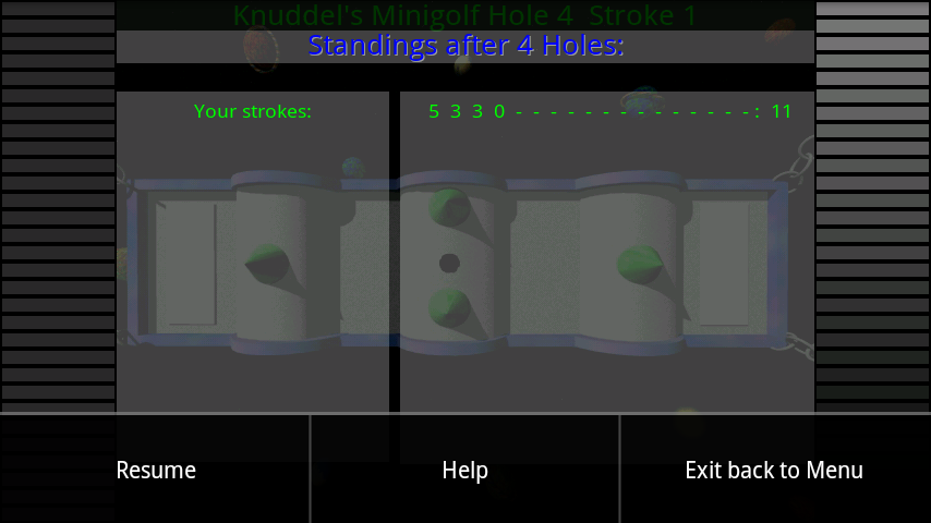 androidアプリ カドリーズミニゴルフ攻略スクリーンショット4