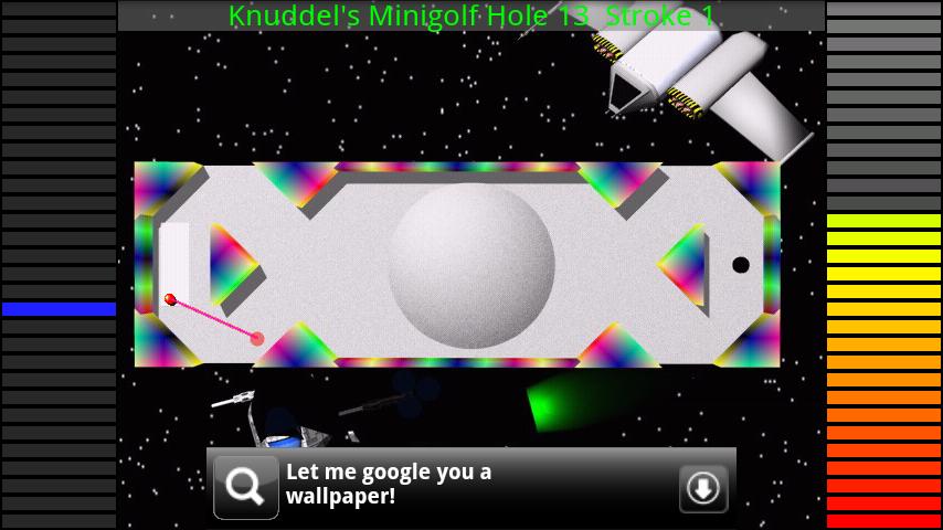 カドリーズミニゴルフ androidアプリスクリーンショット2