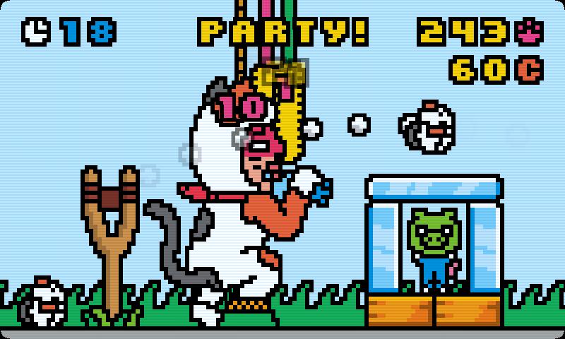 androidアプリ キティパンチ攻略スクリーンショット2