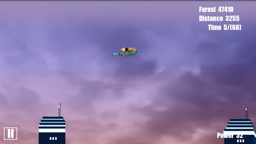 androidアプリ ジェット 飛ぶ(II)攻略スクリーンショット2
