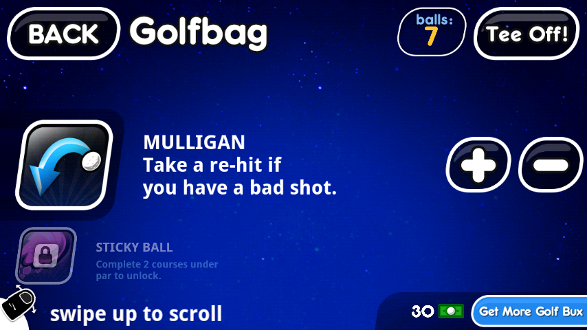 androidアプリ スーパー スティックマン ゴルフ攻略スクリーンショット3