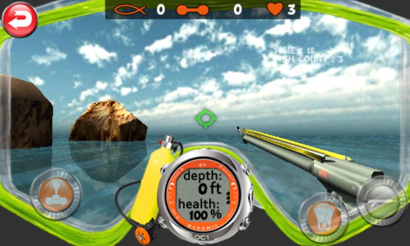 androidアプリ スピアフィッシング ライト攻略スクリーンショット3