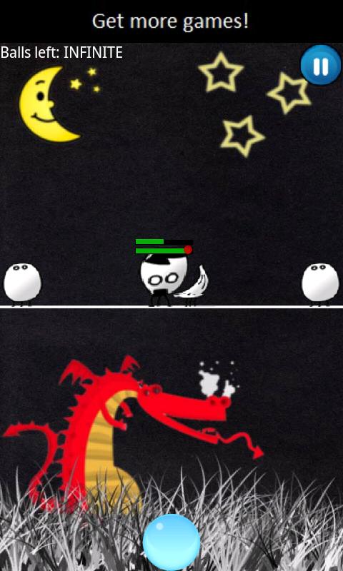 エイリアン フェイスボール androidアプリスクリーンショット1