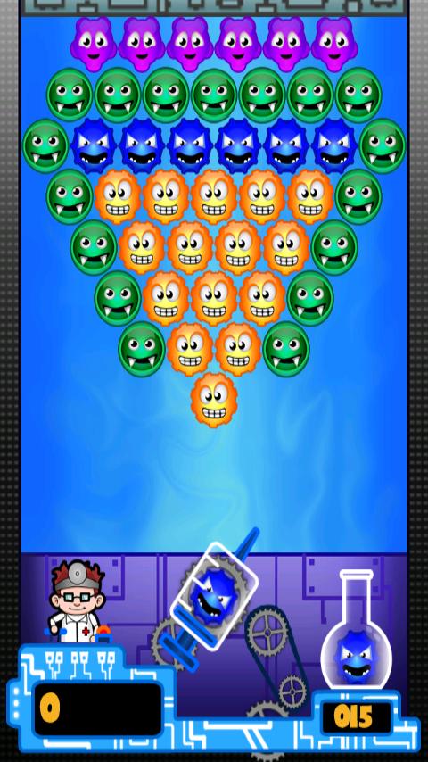 androidアプリ ドクターバブル (Doctor Bubble)攻略スクリーンショット1