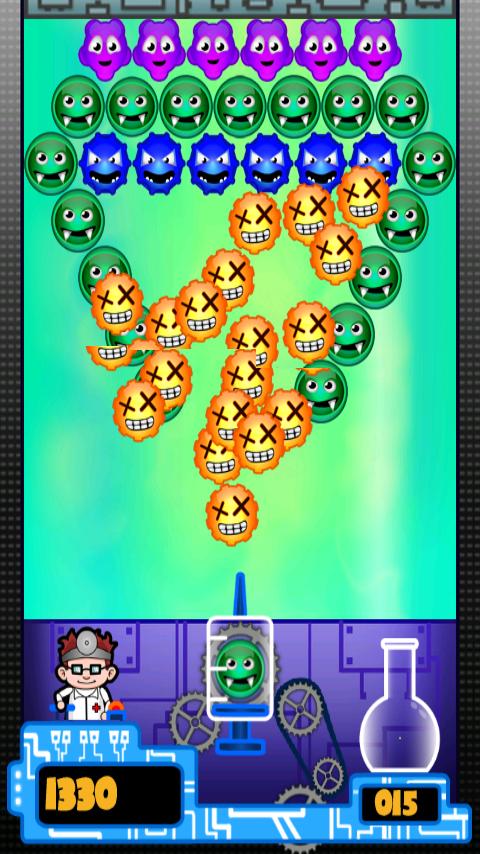 androidアプリ ドクターバブル (Doctor Bubble)攻略スクリーンショット2