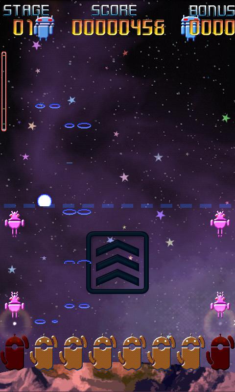 androidアプリ レトロイドシューティング2攻略スクリーンショット1