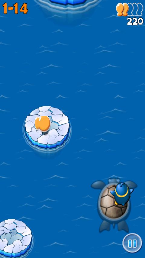 androidアプリ エアーペンギン攻略スクリーンショット1