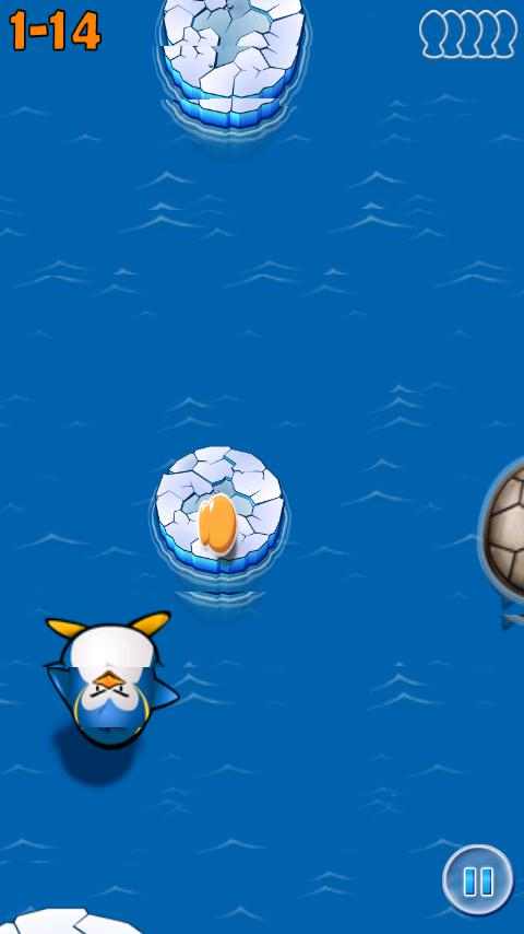 androidアプリ エアーペンギン攻略スクリーンショット2