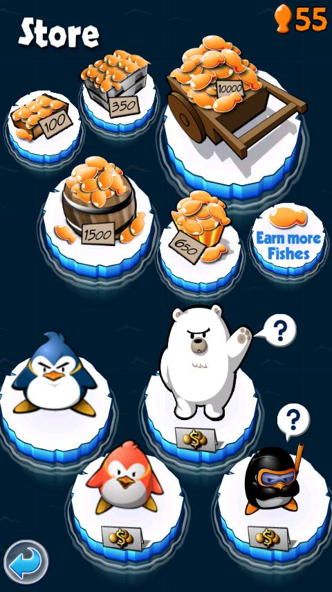 androidアプリ エアーペンギン攻略スクリーンショット5