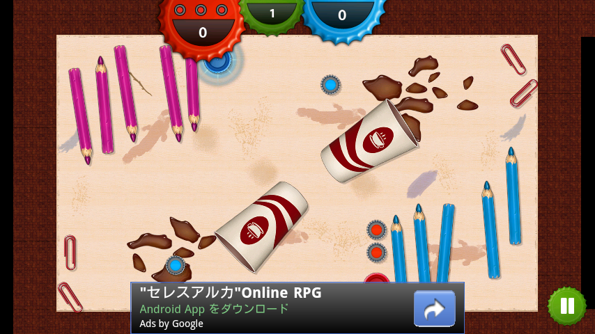 androidアプリ キャップウォーズ攻略スクリーンショット5