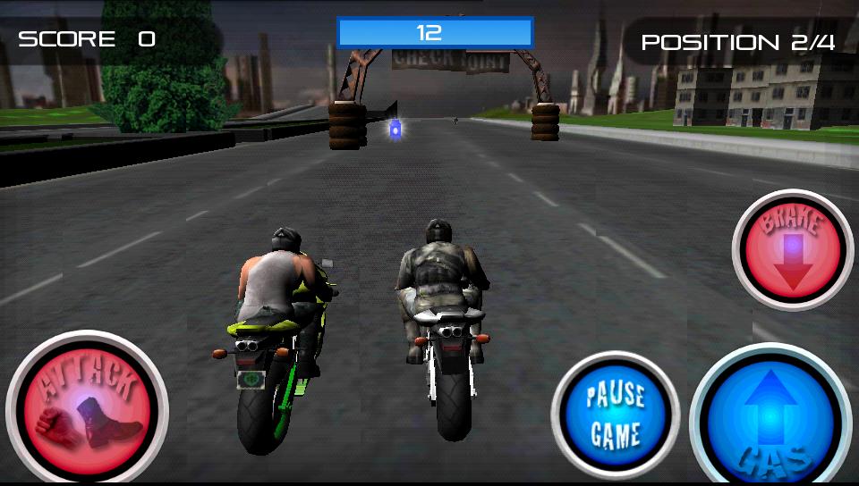 androidアプリ レーススタントファイト!オートバイ攻略スクリーンショット3