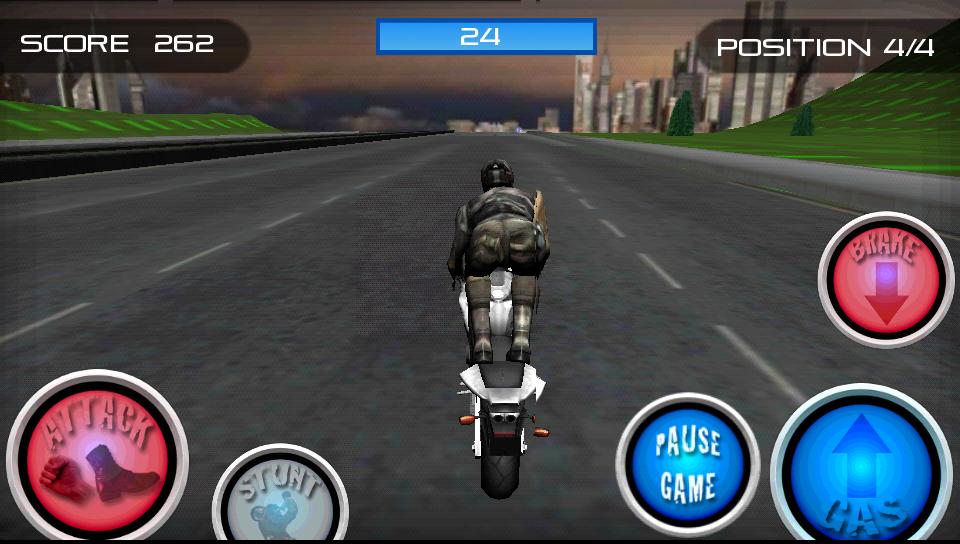 androidアプリ レーススタントファイト!オートバイ攻略スクリーンショット4