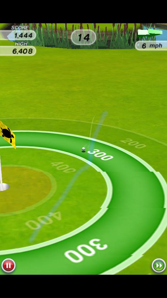 androidアプリ フリックゴルフ!攻略スクリーンショット3