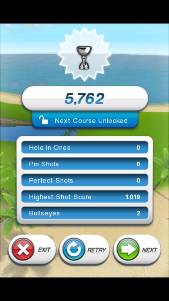 androidアプリ フリックゴルフ!攻略スクリーンショット5