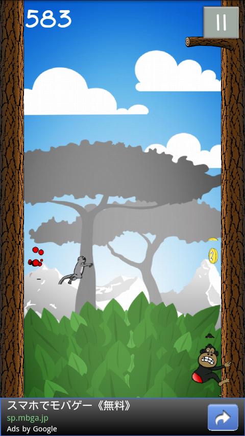 androidアプリ ジャングルジャンプ攻略スクリーンショット4