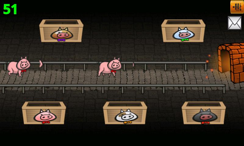 豚ちゃんを救え! androidアプリスクリーンショット1