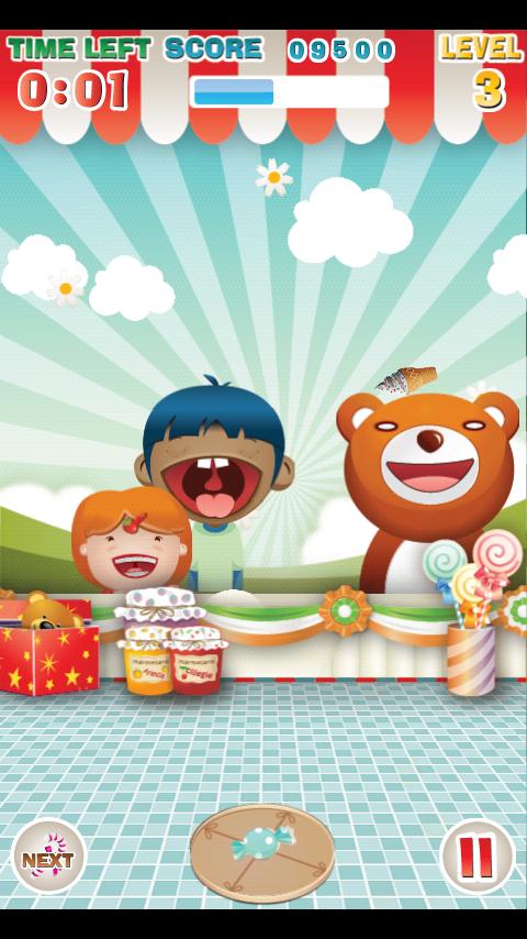 キャンディートス androidアプリスクリーンショット1