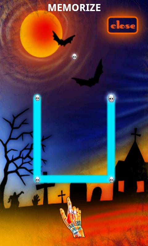 androidアプリ グロウパズル ハロウィン攻略スクリーンショット5