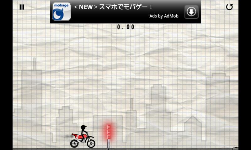 androidアプリ スティックスタントバイカー攻略スクリーンショット1