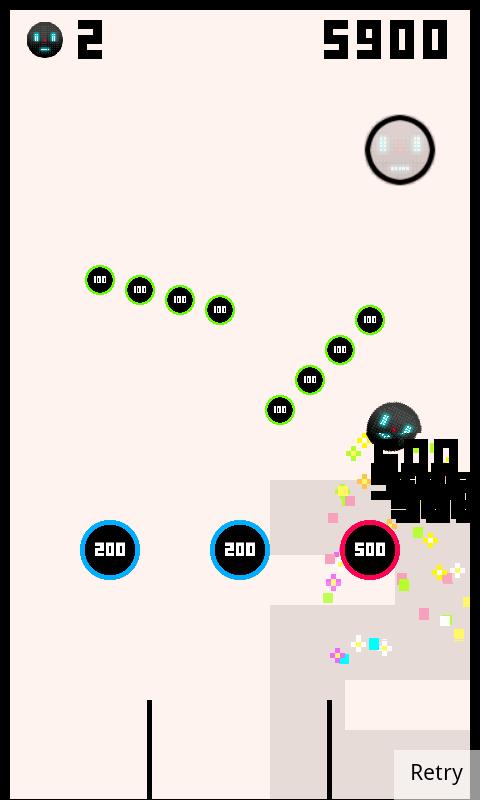 androidアプリ バガテル攻略スクリーンショット3