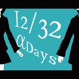12/32 αDays