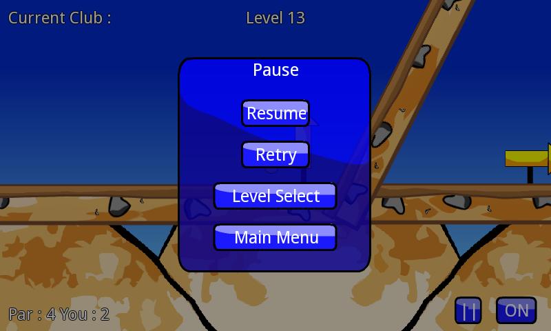 androidアプリ プラタゴルフ ライト攻略スクリーンショット4